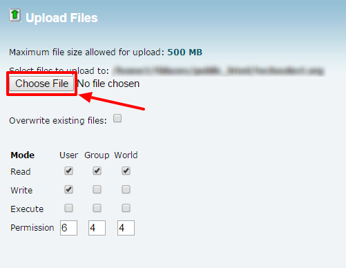 Select WordPress ZIP File